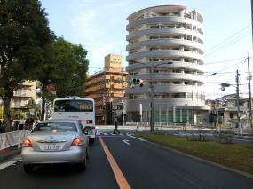 バス道の写真
