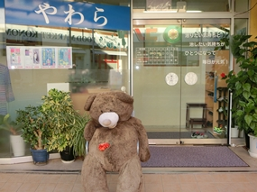 大きなクマのぬいぐるみの写真