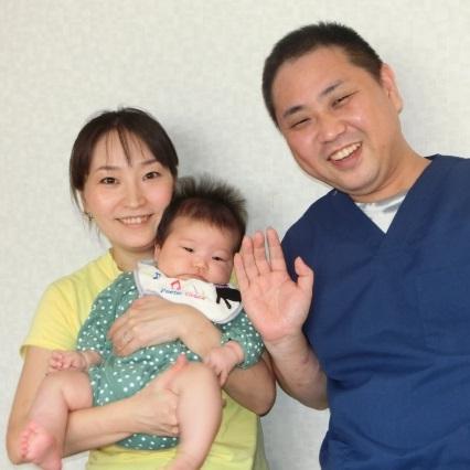 患者さんとその赤ちゃんの写真